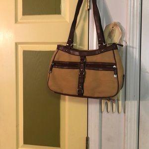 Brown fashion purse